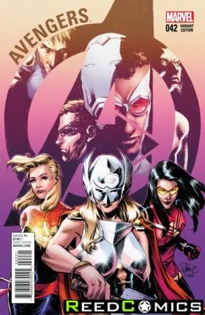 Avengers Volume 5 #42 (Women of Marvel Variant Cover)