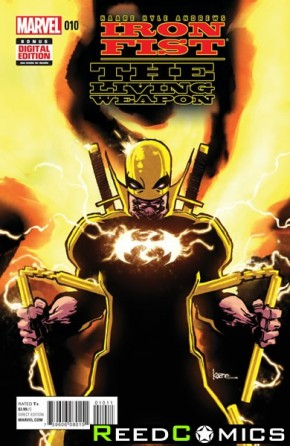 Iron Fist Living Weapon #10