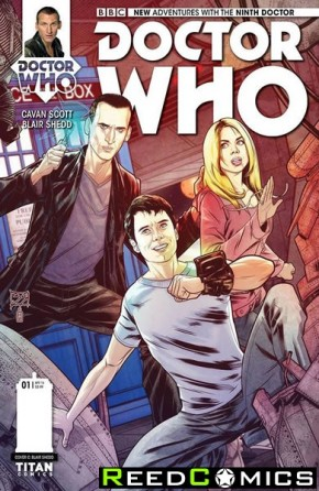 Doctor Who 9th #1 (1 in 10 Incentive Variant Cover)