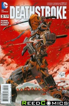 Deathstroke Volume 3 #3 (2nd Print)