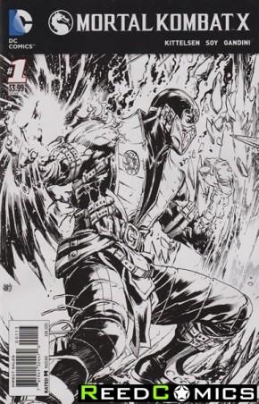 Mortal Kombat X #1 (3rd Print)