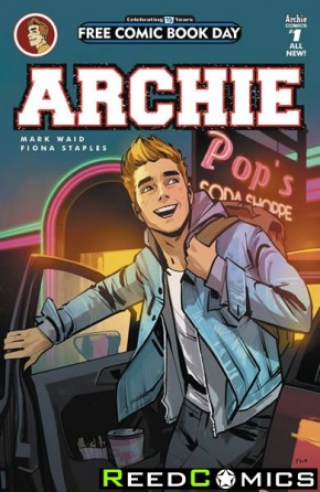 FCBD 2016 Archie #1 *Limit 1 Per Customer*
