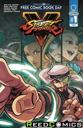 FCBD 2016 Street Fighter V Special *Limit 1 Per Customer*
