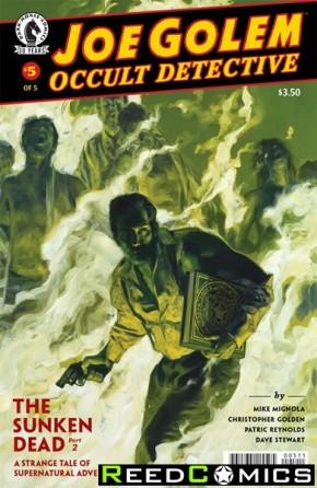 Joe Golem Occult Detective #5