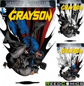 Grayson #18 (Random Polybagged Variant Edition)