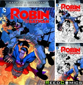 Robin Son of Batman #10 (Random Polybagged Variant Edition)