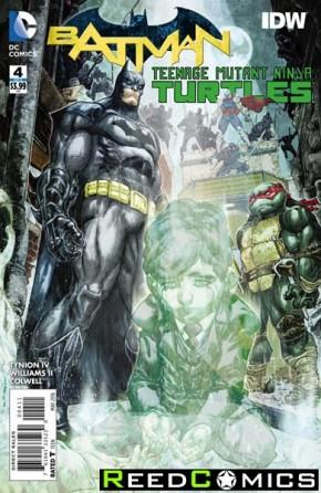 Batman Teenage Mutant Ninja Turtles #4