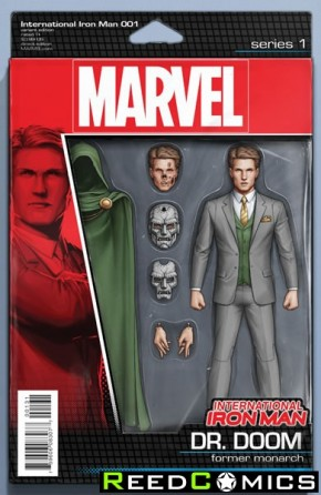 International Iron Man #1 (Action Figure Variant Cover)