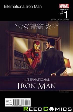 International Iron Man #1 (Hip Hop Variant Cover)