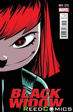 Black Widow Volume 6 #1 (Skottie Young Baby Variant Cover)