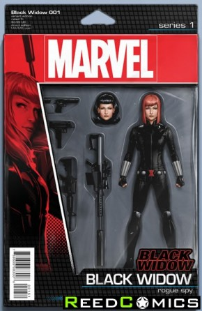 Black Widow Volume 6 #1 (Christopher Action Figure Variant Cover)