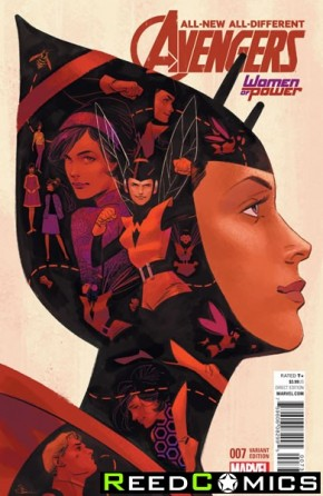 All New All Different Avengers #7 (Shaner Women of Power Variant Cover)