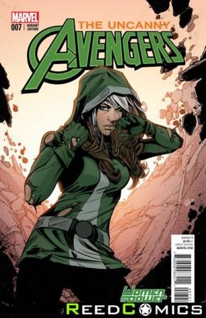 Uncanny Avengers Volume 3 #7 (Jones Women of Power Variant Cover)