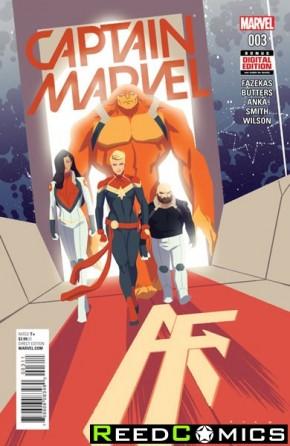 Captain Marvel Volume 8 #3