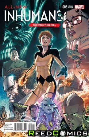 All New Inhumans #5 (The Story Thus Far Variant Cover)