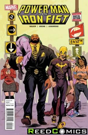 Power Man and Iron Fist Volume 3 #2