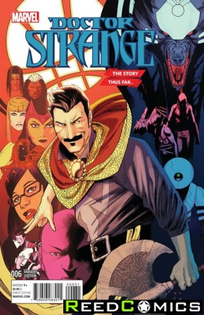 Doctor Strange Volume 4 #6 (Anka Story Thus Far Variant Cover)