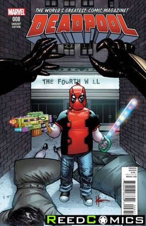 Deadpool Volume 5 #8 (1 in 15 Chaykin Incentive Variant Cover)