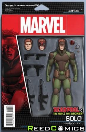 Deadpool Mercs for Money #2 (Action Figure Variant Cover)