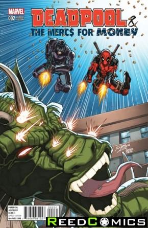 Deadpool Mercs for Money #2 (Lim Variant Cover)