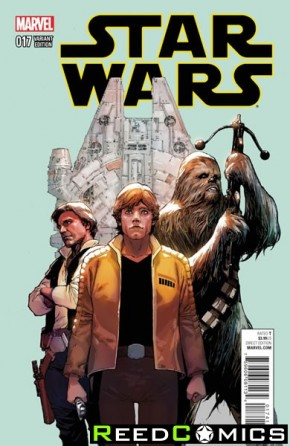 Star Wars Volume 4 #17 (Yu 1 in 25 Incentive Variant Cover)