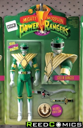 Mighty Morphin Power Rangers #1 (Action Figure Variant Cover)