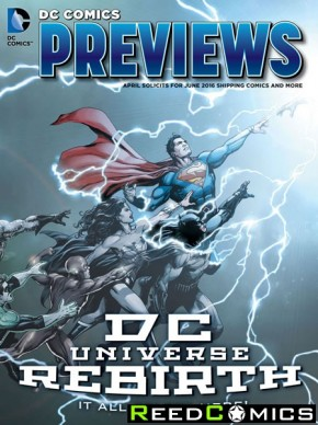 DC Previews Catalogue #1 Rebirth