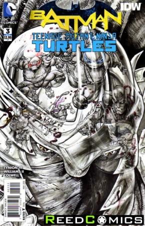Batman Teenage Mutant Ninja Turtles #3 (2nd Print)