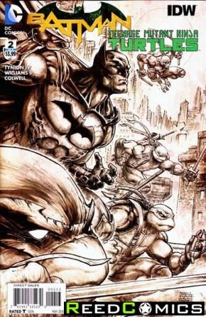 Batman Teenage Mutant Ninja Turtles #2 (3rd Print)