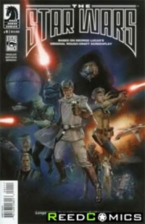 Star Wars Lucas Draft #1