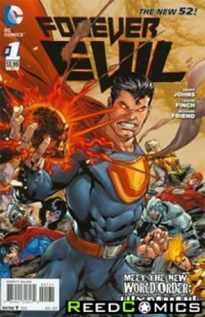 Forever Evil #1 (1 in 25 Incentive Variant Cover A)