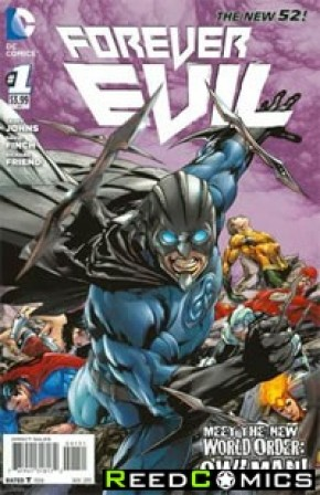 Forever Evil #1 (1 in 25 Incentive Variant Cover C)