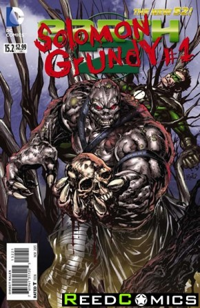 Earth Two #15.2 Solomon Grundy 3D Motion Cover (1st Print)
