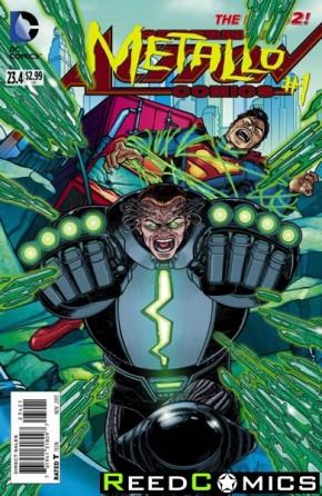 Action Comics Volume 2 #23.4 Metallo Standard Edition