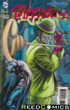 Batman Volume 2 #23.2 Riddler 3D Motion Cover (1st Print)