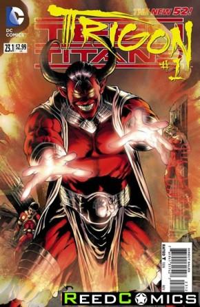 Teen Titans Volume 4 #23.1 Trigon 3D Motion Cover (1st Print)