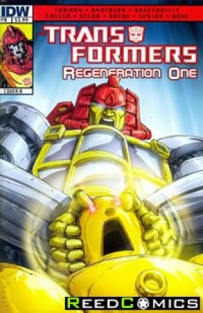 Transformers Regeneration One #0 (Cover A)