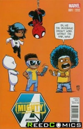 Mighty Avengers Volume 2 #1 (Skottie Young Baby Variant Cover)