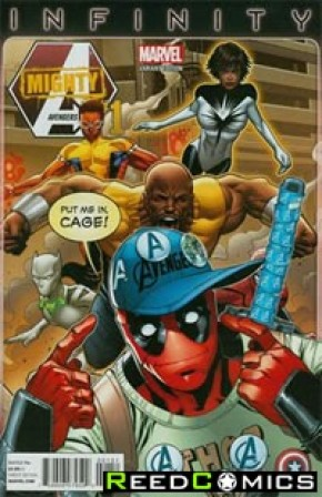 Mighty Avengers Volume 2 #1 (Deadpool Party Variant Cover)