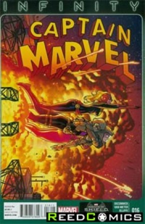 Captain Marvel Volume 6 #16