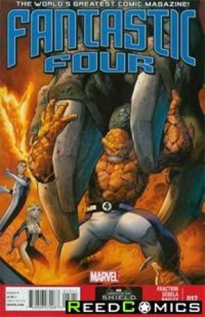 Fantastic Four Volume 4 #12
