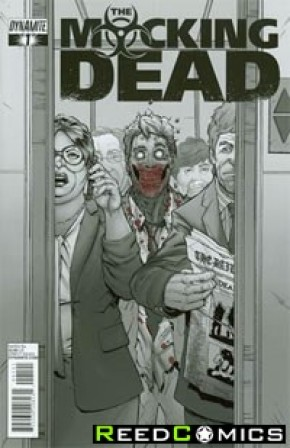 Mocking Dead #1 (Subscription Variant) *HOT BOOK*