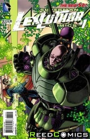 Action Comics Volume 2 #23.3 Lex Luthor Standard Edition