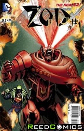 Action Comics Volume 2 #23.2 Zod Standard Edition