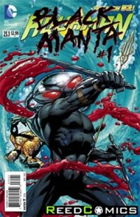 Aquaman Volume 5 #23.1 Black Manta Standard Edition