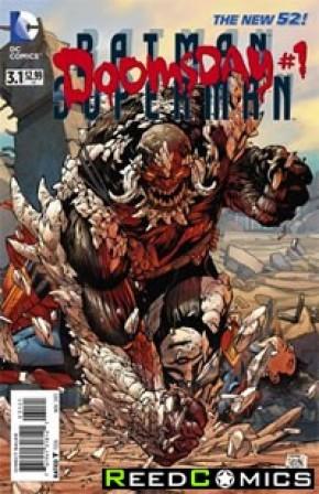 Batman Superman #3.1 Doomsday Standard Edition