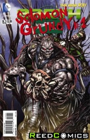 Earth Two #15.2 Solomon Grundy Standard Edition