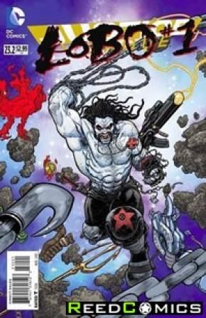 Justice League Volume 2 #23.2 Lobo Standard Edition