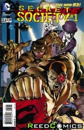 Justice League Volume 2 #23.4 Secret Society Standard Edition