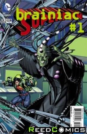 Superman Volume 4 #23.2 Brainiac Standard Edition